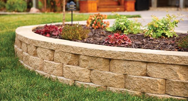 Stone Retaining Wall Blocks : Benefits of retaining walls
